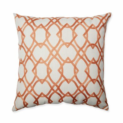 Forget Me Knots Throw Pillow Size: 18