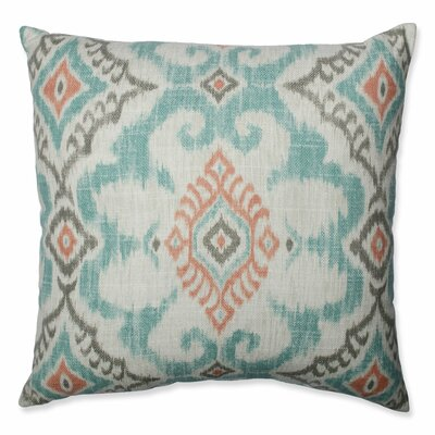 Kantha Surf Throw Pillow Size: 18-inch