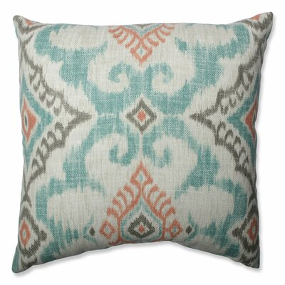 Kantha Surf Throw Pillow Size: 16.5-inch