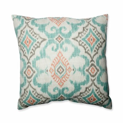 Kantha Surf Throw Pillow Size: 24.5-inch