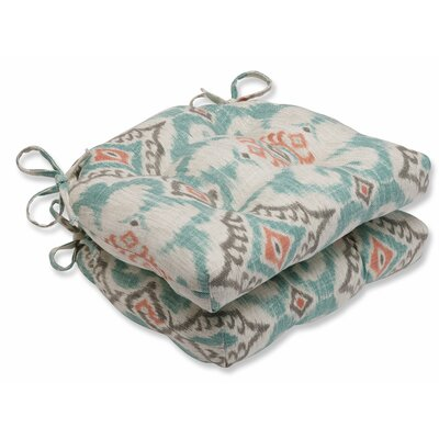 Kantha Surf Reversible Chair Pad