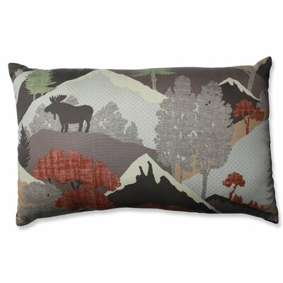 Happy Camper Heather Cotton Lumbar Pillow
