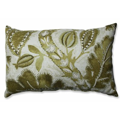 Java Tree Moss Cotton Lumbar Pillow