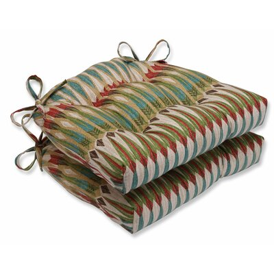 Acela Adobe Cotton Reversible Chair Pad