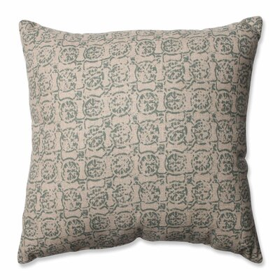 Castille Throw Pillow Size: 16.5 x 16.5, Color: Seagrass