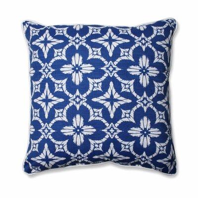 Aspidoras Indoor/Outdoor Floor Pillow Color: Cobalt