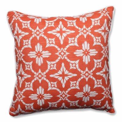 Charisse Indoor/Outdoor Floor Pillow Color: Coral