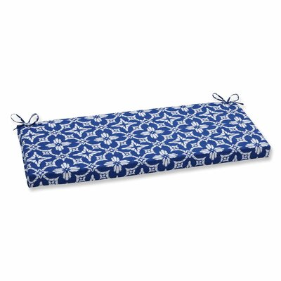 Aspidoras Outdoor Bench Cushion Color: Cobalt
