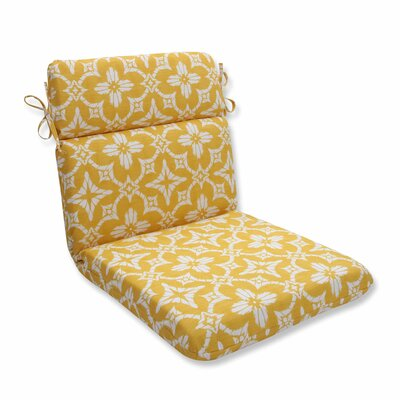 Aspidoras Outdoor Dining Chair Cushion Color: Soleil