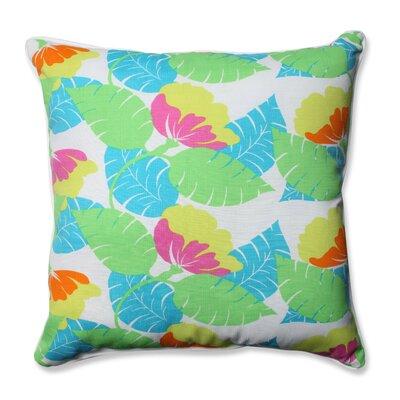 Avia Indoor/Outdoor Floor Pillow Color: Fiesta