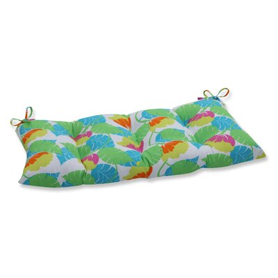 Avia Outdoor Bench Cushion Color: Fiesta