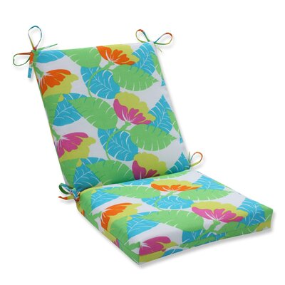 Avia Outdoor Dining Chair Cushion Color: Fiesta