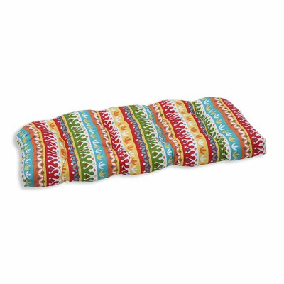 Cotrell Outdoor Loveseat Cushion Color: Garden