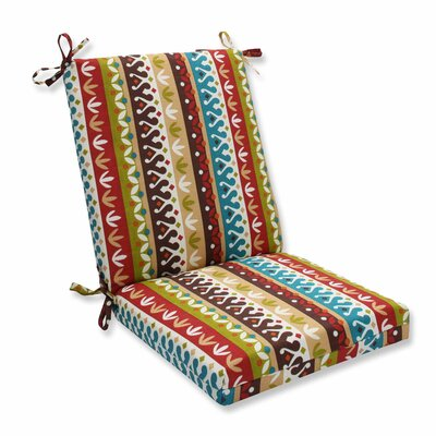 Cotrell Outdoor Dining Chair Cushion Color: Jungle