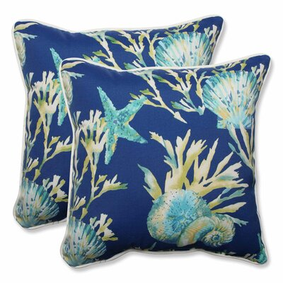 Daytrip Indoor/Outdoor Throw Pillow Color: Pacific