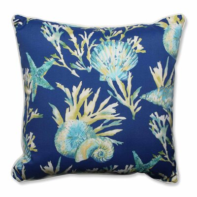 Daytrip Indoor/Outdoor Floor Pillow Color: Pacific