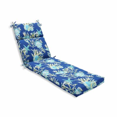 Daytrip Outdoor Chaise Lounge Cushion Color: Pacific