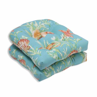 Daytrip Outdoor Dining Chair Cushion Color: Seaspray