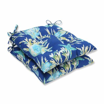 Daytrip Outdoor Dining Chair Cushion Color: Pacific
