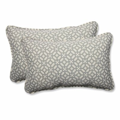 Leticia Outdoor Lumbar Pillow Color: Pebble, Size: 11.5 H x 18.5 W