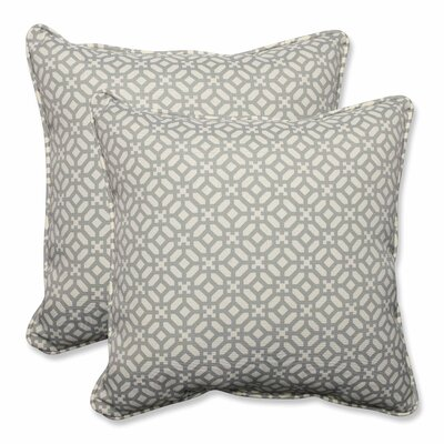 In the Frame Indoor/Outdoor Throw Pillow Color: Pebble