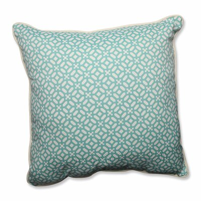 Pillow Perfect In the Frame Indoor/Outdoor Floor Pillow (Set of 2) - Color: Oasis