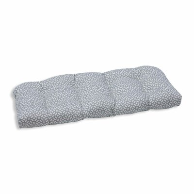 In the Frame Outdoor Loveseat Cushion Color: Pebble