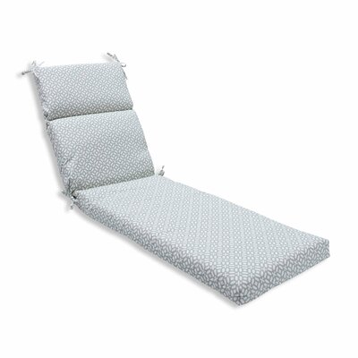 In the Frame Outdoor Chaise Lounge Cushion Color: Pebble