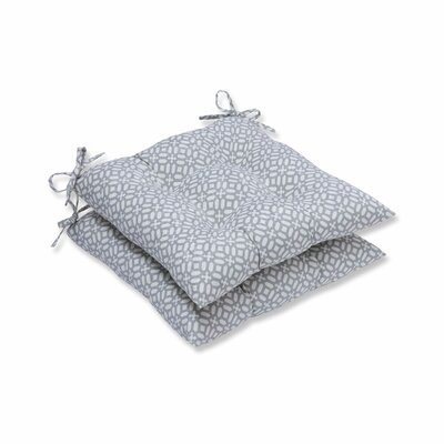 In the Frame Outdoor Dining Chair Cushion Color: Pebble