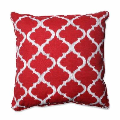 Kobette Indoor/Outdoor Floor Pillow Color: Red