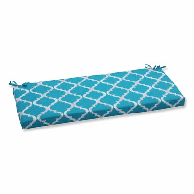 Kobette Outdoor Bench Cushion Color: Teal