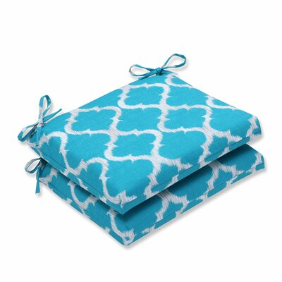 Bushnell Outdoor Dining Chair Cushion Color: Teal