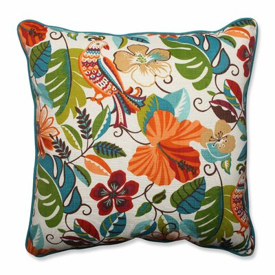 Guadaloue Indoor/Outdoor Floor Pillow Color: Jungle