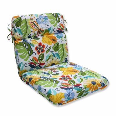 Lensing Outdoor Dining Chair Cushion Color: Garden