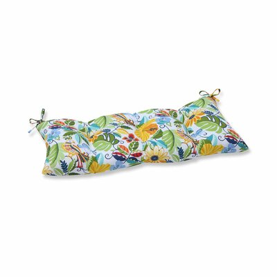 Guadaloue Outdoor Bench Cushion Color: Garden