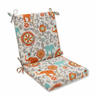 Hardy Outdoor Dining Chair Cushion Color: Cayenne