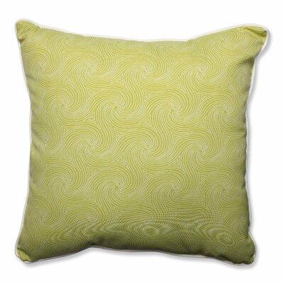 Nabil Outdoor/Indoor Floor Pillow Color: Kiwi