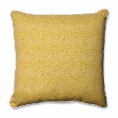 Nabil Outdoor/Indoor Floor Pillow Color: Sunflower