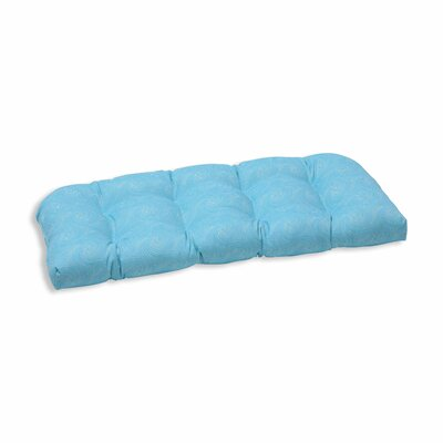 Nabil Outdoor Loveseat Cushion Color: Caribbean