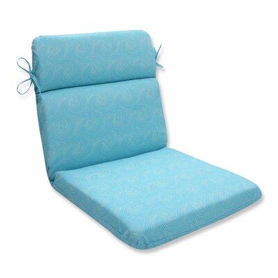 Nabil Outdoor Dinning Chair Cushion Color: Caribbean