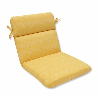 Nabil Outdoor Dinning Chair Cushion Color: Sunflower