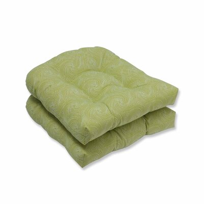 Nabil Outdoor Dining Chair Cushion Color: Kiwi