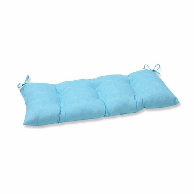 Nabil Outdoor Bench Cushion Color: Caribbean