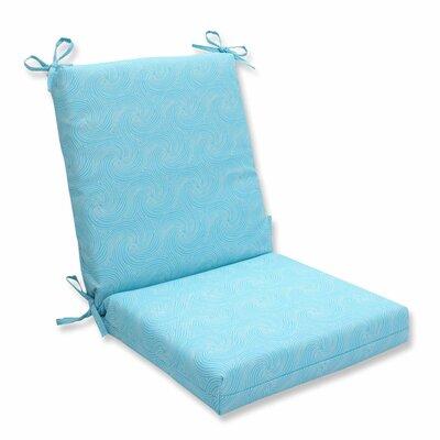 Nabil Outdoor Dining Chair Cushion Color: Caribbean