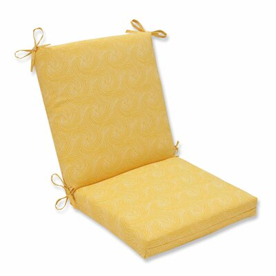 Nabil Outdoor Dining Chair Cushion Color: Sunflower