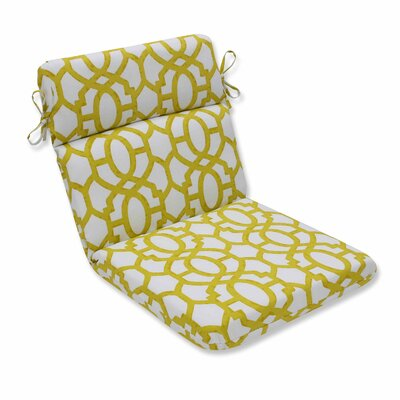 Nunu Geo Outdoor Dining Chair Cushion Color: Wasabi