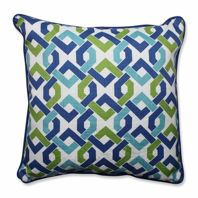 Reiser Indoor/Outdoor Floor Pillow Color: Lagoon