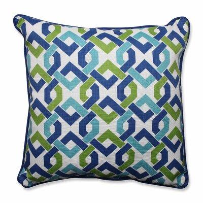 Pillow Perfect Reiser Indoor/Outdoor Floor Pillow (Set of 2) - Color: Lagoon