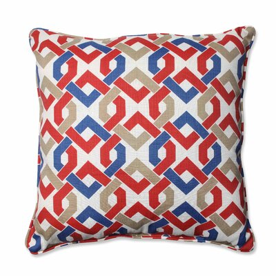 Reiser Indoor/Outdoor Floor Pillow Color: Patriot