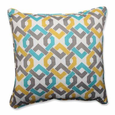 Reiser Indoor/Outdoor Floor Pillow Color: Sterling